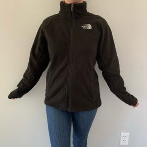 The North Face Full Zip Black Fleece